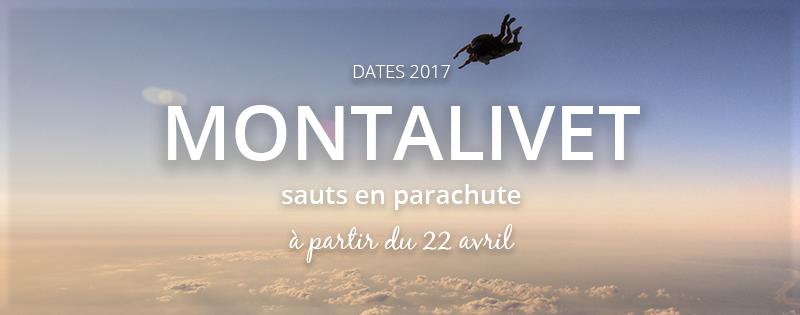 Sauts en parachute à Montalivet