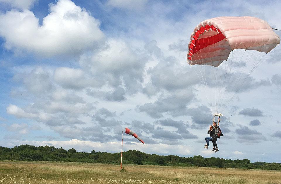 Faire du parachutisme en Gironde