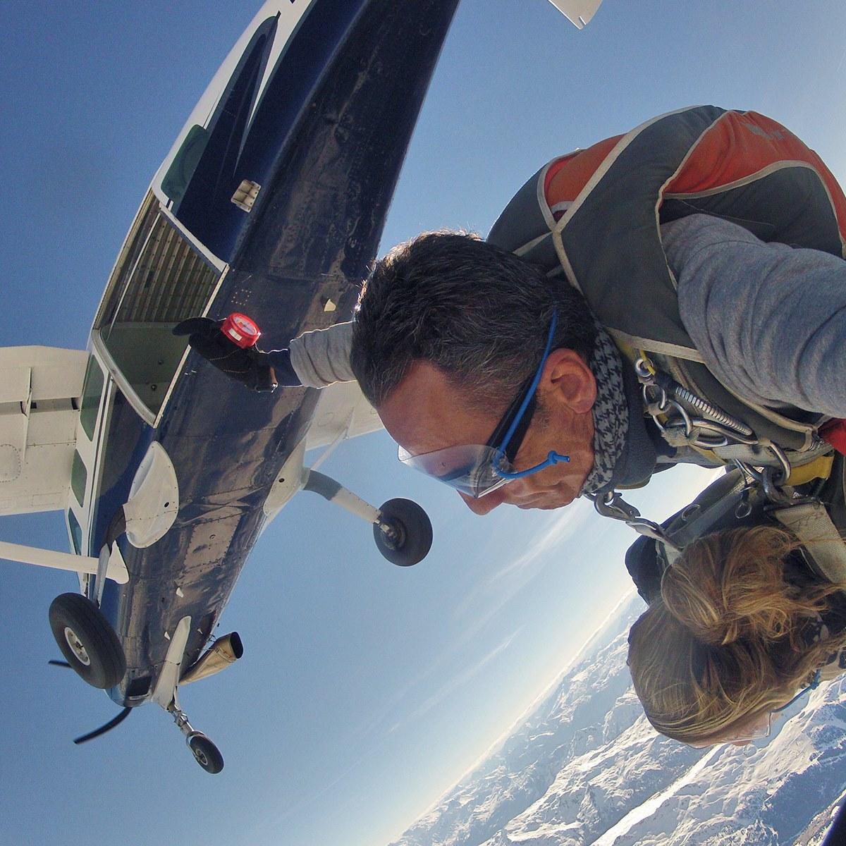 Bernard Maussire - Expert saut en parachute