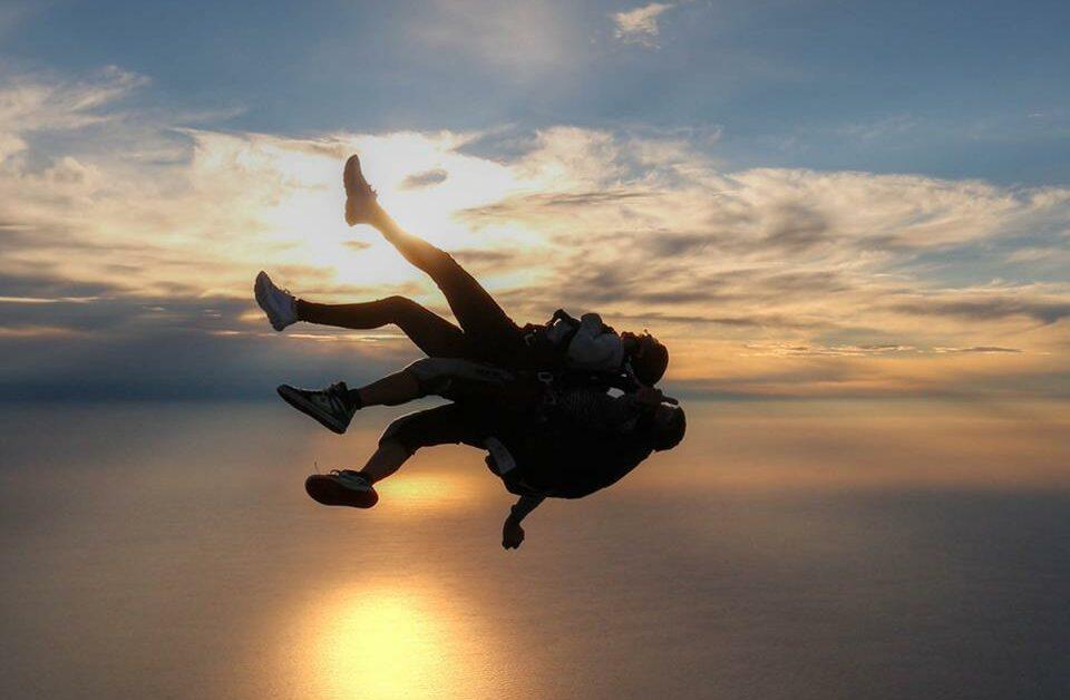 Offre le plus incroyable des cadeaux : un saut en parachute