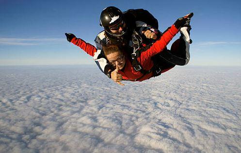 Offrez un baptême en parachute