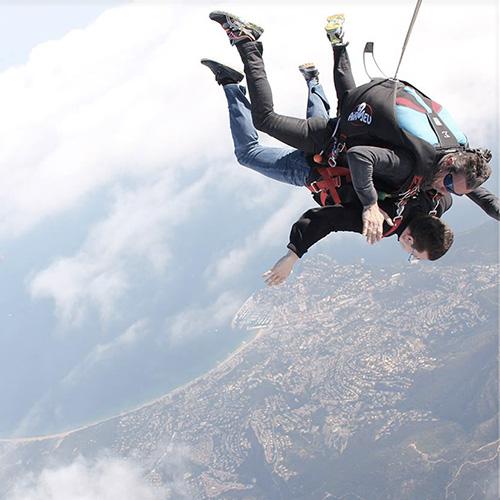 Saut en Parachute à Saint Tropez