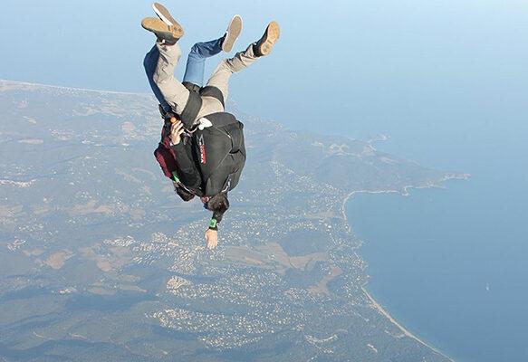 Sautez en parachute en tandem au-dessus de la Méditerranée à Saint-Tropez