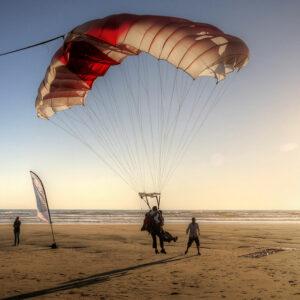 Saut Parachute Bordeaux Montalivet Soulac