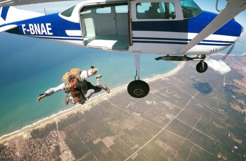 Où sauter en parachute en France ?
